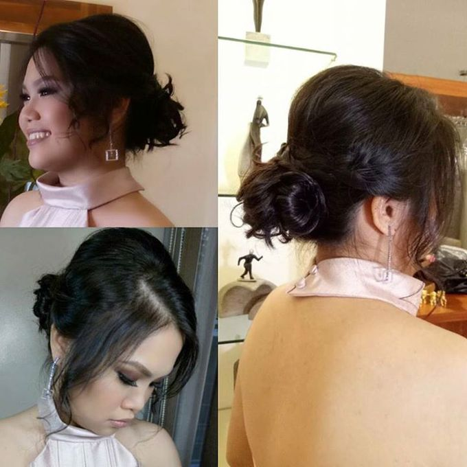 HAIRSTYLING Works(didnt Do Makeup On These Clients) by Diana May Makeup Artistry - 019