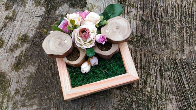 Wedding ring box by Hana Seserahan - 039