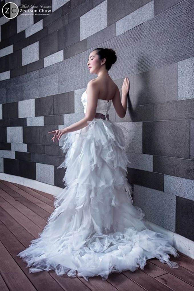 Natural Korean Bridal Look by Beautistylebykoreen - 004