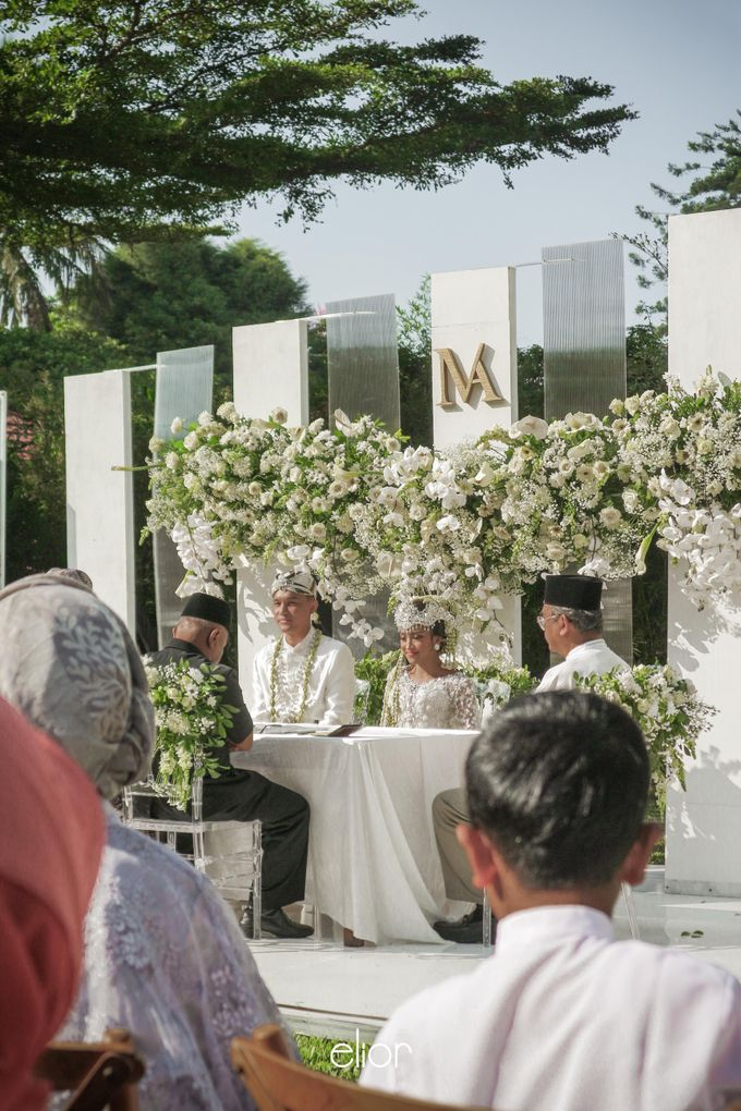 The Modern and Elegant Wedding Ceremony of Monica and Allen by Elior Design - 014