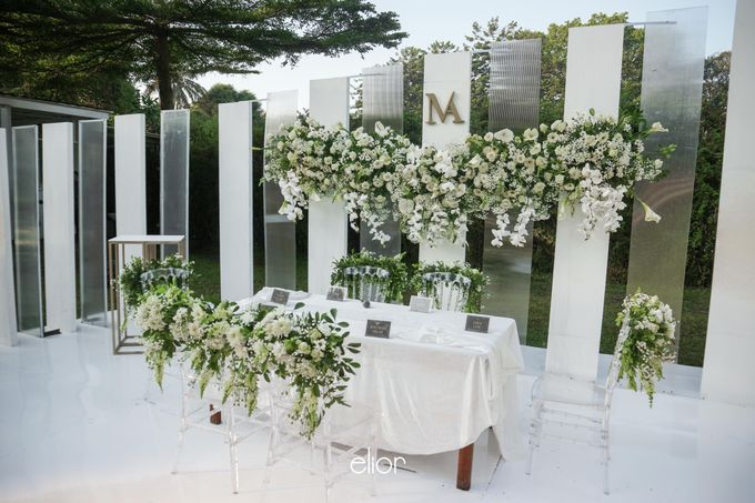 The Modern and Elegant Wedding Ceremony of Monica and Allen by Elior Design - 006