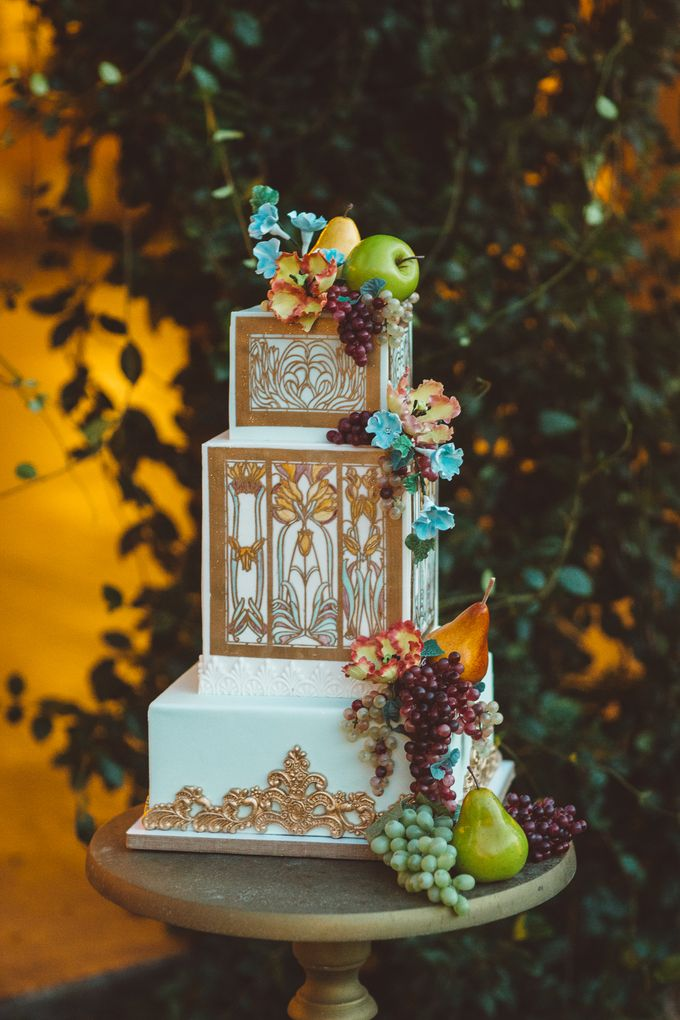 Wedding and Grooms' Cakes by Cakes ROCK!!! - 025