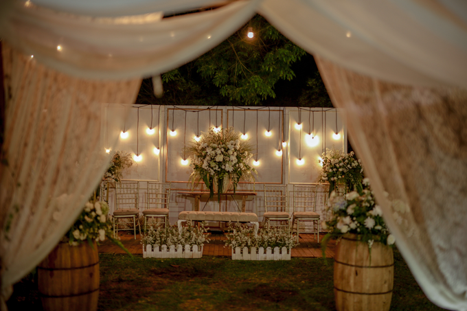 An Intimate wedding of Kinan & Anis by Maeera Decoration - 002