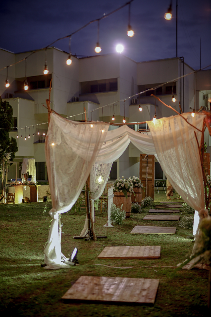 An Intimate wedding of Kinan & Anis by Maeera Decoration - 003