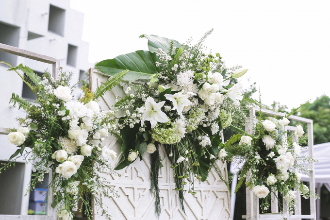 An Intimate wedding of Kinan & Anis by Maeera Decoration - 011