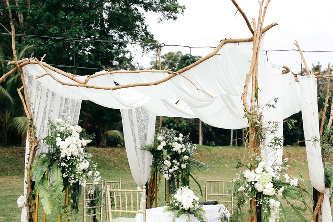 An Intimate wedding of Kinan & Anis by Maeera Decoration - 019