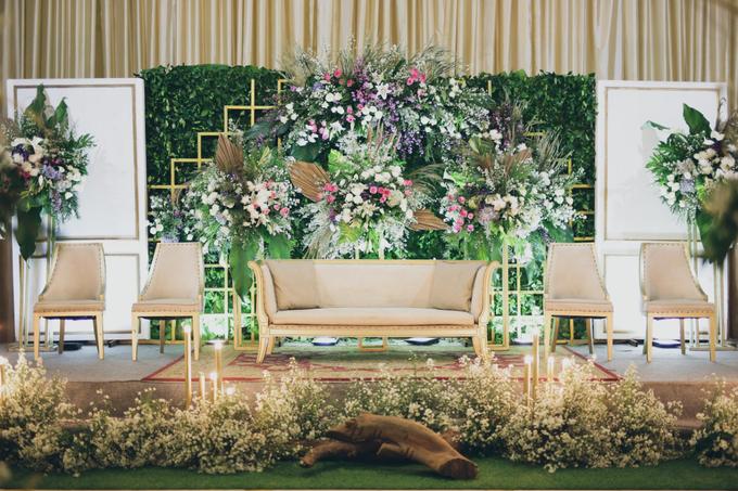 Novilia & Farid Wedding  by PENDOPO KEMANG - 001