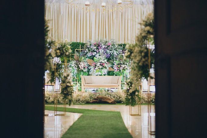 Novilia & Farid Wedding  by PENDOPO KEMANG - 004