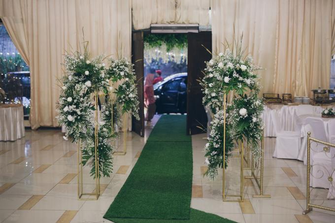 Novilia & Farid Wedding  by PENDOPO KEMANG - 007