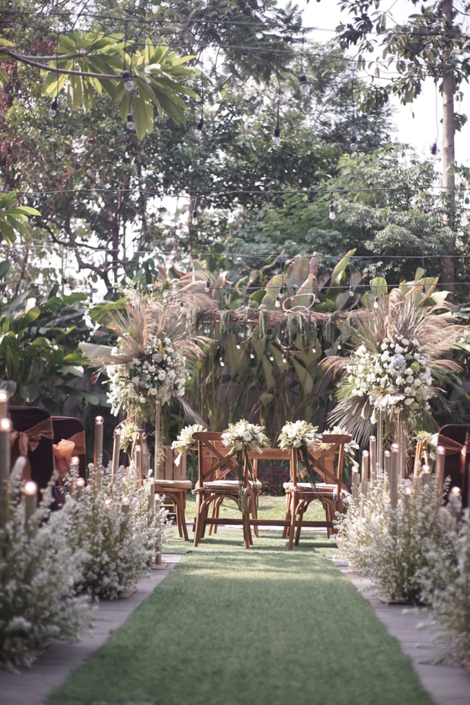 Puteri & Zaki Wedding Akad And Reception by AVIARY Bintaro - 001