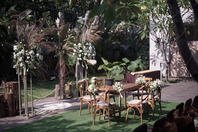 Puteri & Zaki Wedding Akad And Reception by AVIARY Bintaro - 002