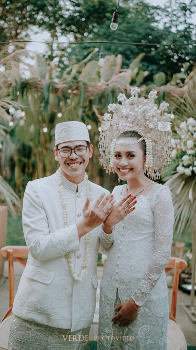 Puteri & Zaki Wedding Akad And Reception by AVIARY Bintaro - 003