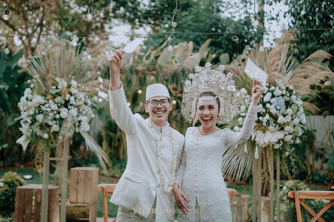 Puteri & Zaki Wedding Akad And Reception by AVIARY Bintaro - 004