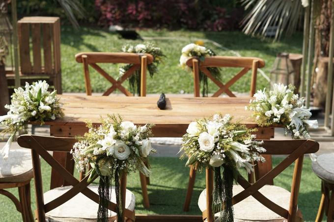 Puteri & Zaki Wedding Akad And Reception by AVIARY Bintaro - 005