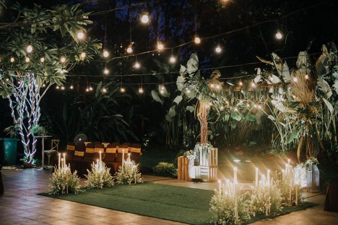 Puteri & Zaki Wedding Akad And Reception by AVIARY Bintaro - 011