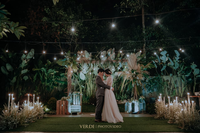 Puteri & Zaki Wedding Akad And Reception by AVIARY Bintaro - 015