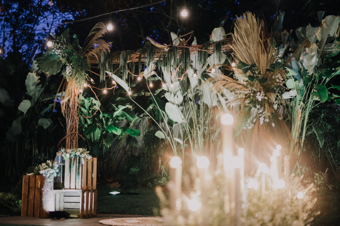 Puteri & Zaki Wedding Akad And Reception by AVIARY Bintaro - 014