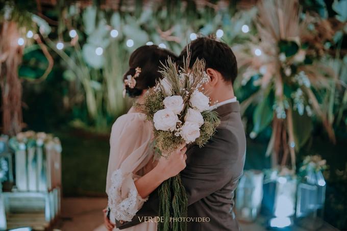 Puteri & Zaki Wedding Akad And Reception by AVIARY Bintaro - 016