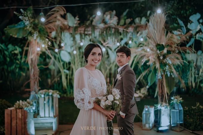 Puteri & Zaki Wedding Akad And Reception by AVIARY Bintaro - 017