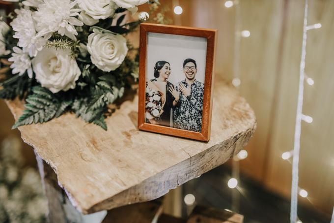 Puteri & Zaki Wedding Akad And Reception by AVIARY Bintaro - 020