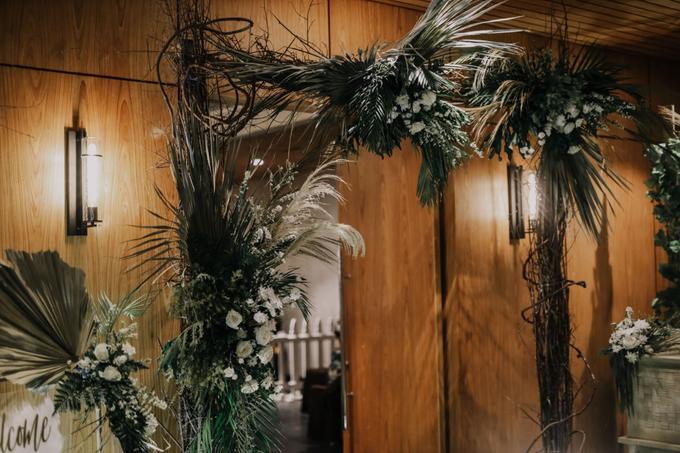 Puteri & Zaki Wedding Akad And Reception by AVIARY Bintaro - 022