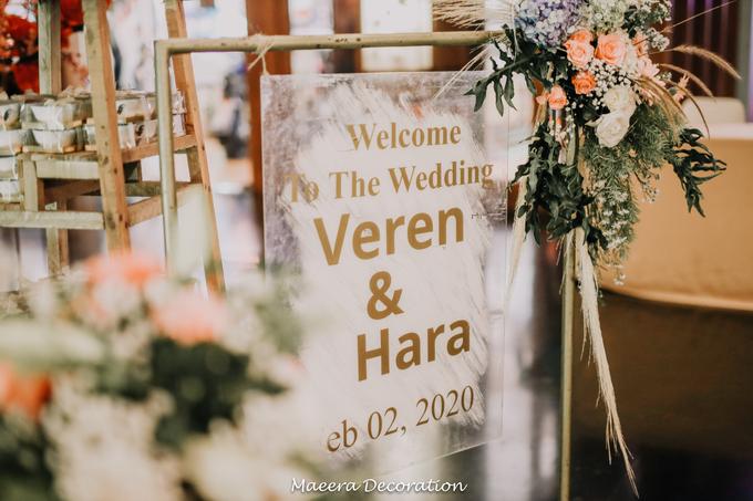 Veren & Hara Wedding by Maeera Decoration - 005