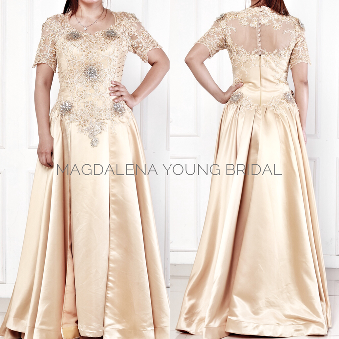 Sewa Gaun size L to XXL by Magdalena Young Bridal - 004