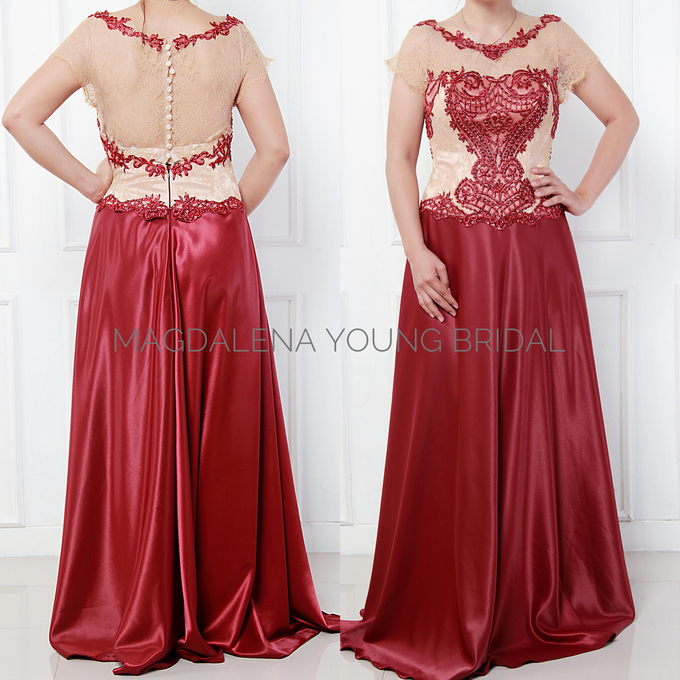 Sewa Gaun size L to XXL by Magdalena Young Bridal - 002