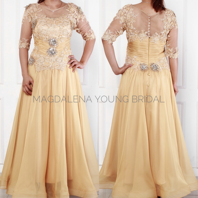 Sewa Gaun size L to XXL by Magdalena Young Bridal - 005