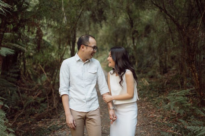 Prewedding Shoot Conquering Different Natural Sights of Victoria Australia by fire, wood & earth - 001