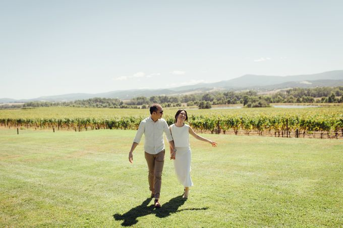 Prewedding Shoot Conquering Different Natural Sights of Victoria Australia by fire, wood & earth - 012