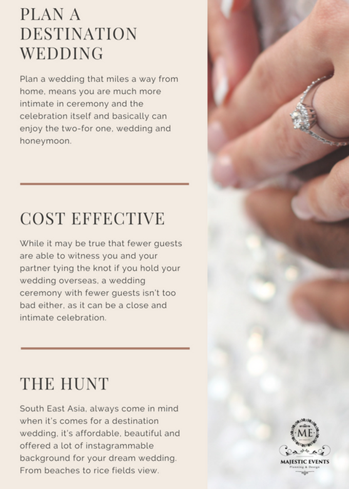 How to plan a destination wedding by Majestic Events - 002