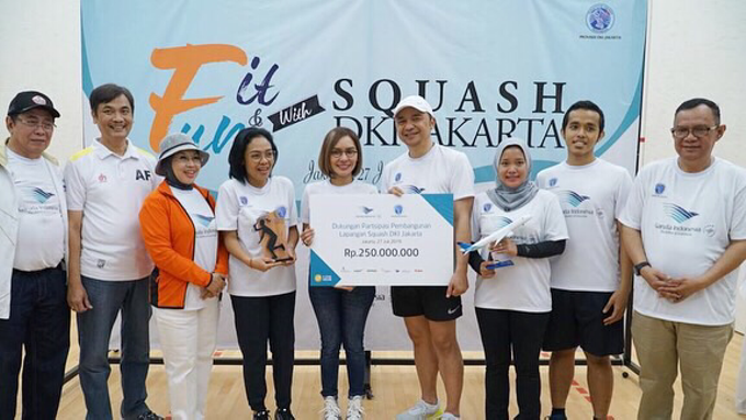 FIT & FUN with Squash DKI Jakarta x Garuda Indones by MAJOR ENTERTAINMENT - 006