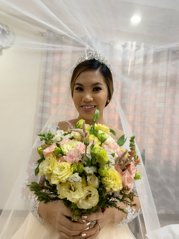 Ms meriedith on her wedding day  by Make Up Artistry by Jac Sindayen - 002
