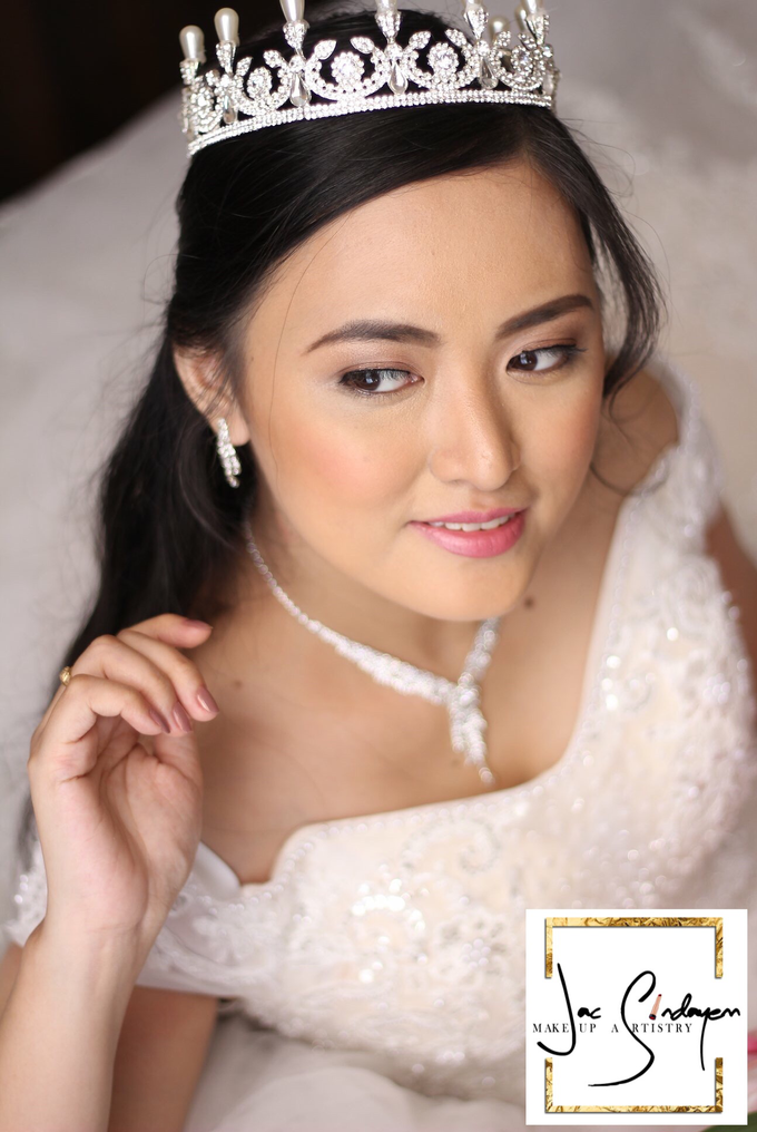 Wedding day of Ms Karen  by Make Up Artistry by Jac Sindayen - 003