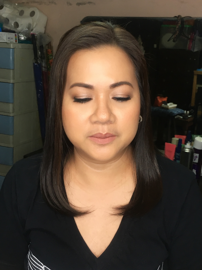 Ms Charise Arevalo for her Mom's Golden Wedding  by Make Up Artistry by Jac Sindayen - 003