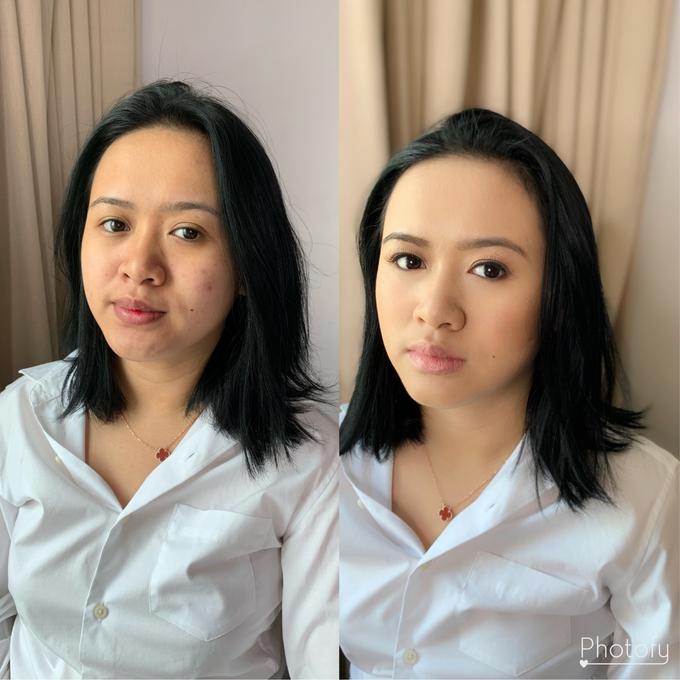 Bridesmaid of Ms Jiemar  by Make Up Artistry by Jac Sindayen - 003