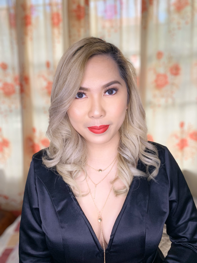 Ms. Therese Conti Daet for her Christmas Party by Make Up Artistry by Jac Sindayen - 003