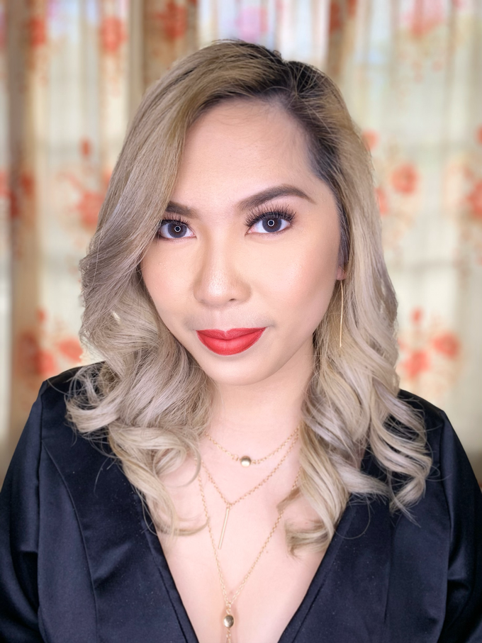 Ms. Therese Conti Daet for her Christmas Party by Make Up Artistry by Jac Sindayen - 005