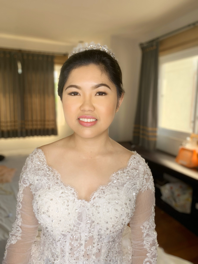 Wedding In Binan Laguna by Make Up Artistry by Jac Sindayen - 001