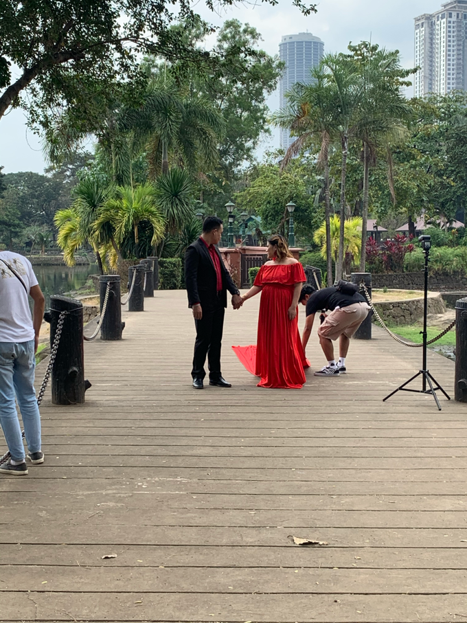 Prenup Shoot for Ms Babylhyne and Sir Michael  by Make Up Artistry by Jac Sindayen - 005