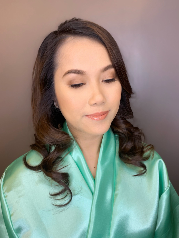 Ms A-Bee's Wedding Preps by Make Up Artistry by Jac Sindayen - 003