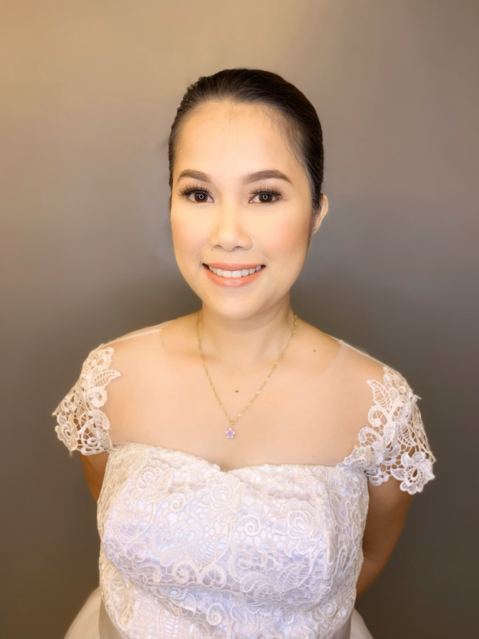 Ms A-Bee's Wedding Preps by Make Up Artistry by Jac Sindayen - 005