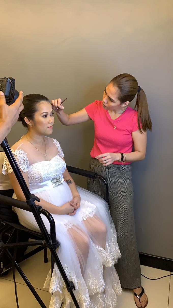 Ms A-Bee's Wedding Preps by Make Up Artistry by Jac Sindayen - 007