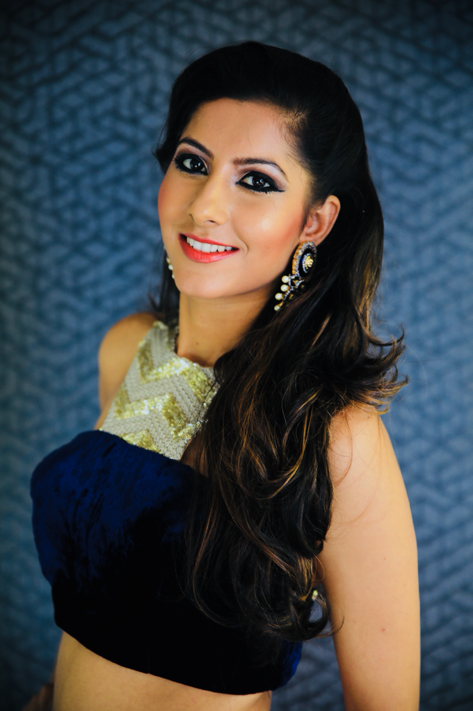 Sangeet look  by make up by Pooja - 004