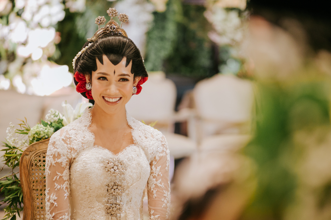 Diandra & Yos Wedding by Ambar Paes Traditional Wedding Make Up - 001