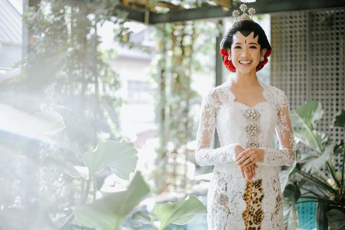 Diandra & Yos Wedding by Ambar Paes Traditional Wedding Make Up - 002