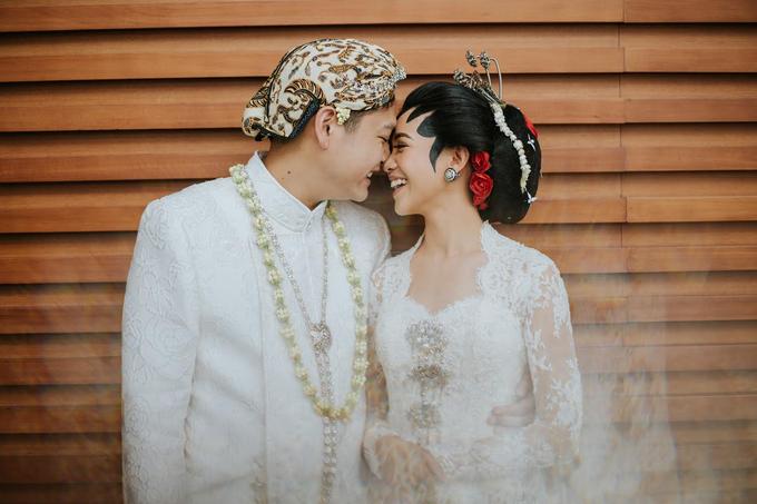 Diandra & Yos Wedding by Ambar Paes Traditional Wedding Make Up - 003