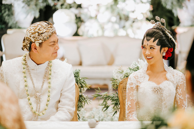 Diandra & Yos Wedding by Ambar Paes Traditional Wedding Make Up - 005