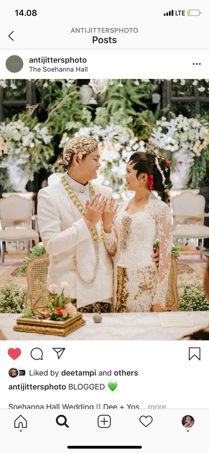 Diandra & Yos Wedding by Ambar Paes Traditional Wedding Make Up - 004